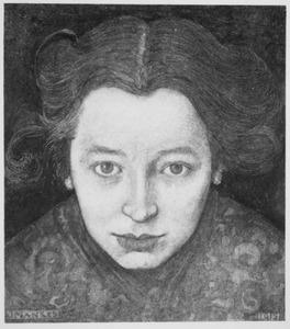 Portret van mevrouw M.