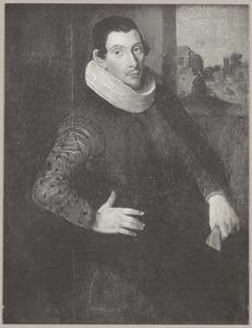 Portret van een man, mogelijk Adriaen van Nieulandt I (....-1658)