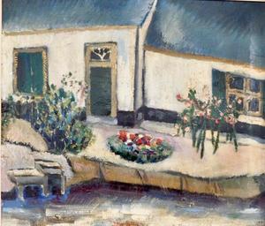 Huis met tuin bij sloot
