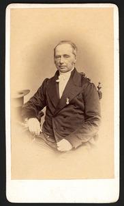 Portret van Wiardus Willem Buma (1802-1873)