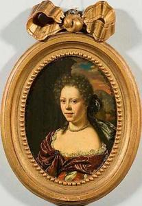 Portret van Brigitta Catharina Backer (1670-1751)