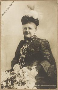 Portret van Emma van Waldeck Pyrmont (1858-1934)