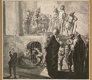 'Ecce Homo', Pilatus wast zijn handen in onschuld  (Johannes 19:4-6)