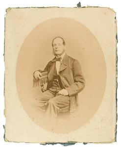 Portret van Herman Guillaume Jansen