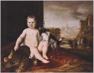 Portret van een onbekend jongetje