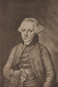 Portret van een man, genaamd Jeronimus Nolthenius (1712-1763)