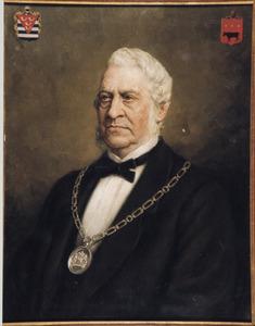 Portret van Gerardus Johannes Versteegh (1818-1881)