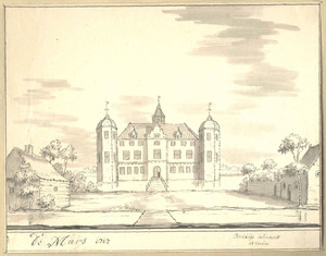 Het huis De Marsch bij Zutphen