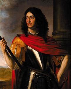 Portret van Eduard van Wittelsbach, Paltsgraaf van Simmern (1624-1663), als een klassieke veldheer