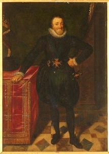 Portret van Henri IV de Bourbon (1553-1610), koning van Frankrijk