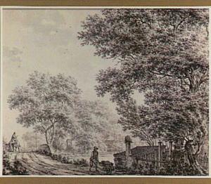 Landschap in de buurt van Ankeveen