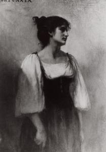 Portret van Johanna Frederika Wilhelmina Diest (1857-1933)