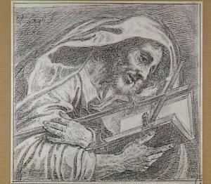 Lezende heilige?