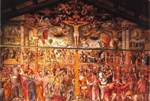 Het lijden en de kruisiging van Christus