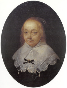 Portret van Anna (van) Ruytenburgh (1589-1648)