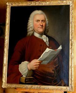 Portret van Martinus van Doorninck (1704-1777)