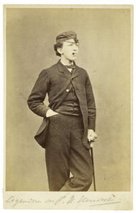 Portret van H. Hendriks (1850-1907)