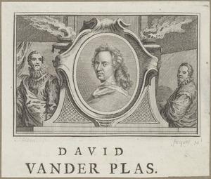 Portret van David van der Plas (1647-1704)
