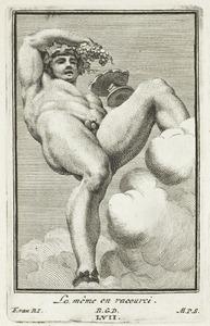Bacchus, in verkort perspectief (pl. LVII)