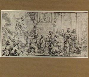 Allegorie op de Eucharistie