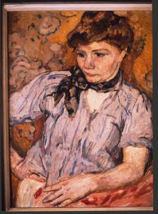 Portret van een vrouw (Jordaantype)