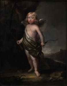 Portret van Christian Reedtz (c. 1660-1704) als cupido