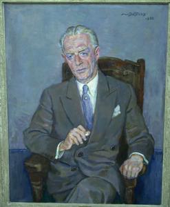 Portret van P.J. Hart Nibbrig (1896-1983)