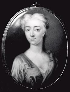 Portret van Anna Susanna van Kretschmar (1693-1735)