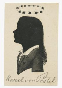 Portret van Carl August Georg von Pestel (1811-1820)