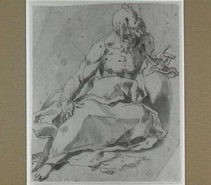 Oude bebaarde man (Heilige Hiëronimus?)