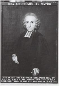 Portret van Jona Willem te Water (1740-1822)