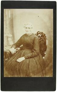 Portret van Maria Groeneboom (1817-1882)