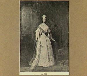 Portret van koningin Anna Paulowna, gemalin van Willem II