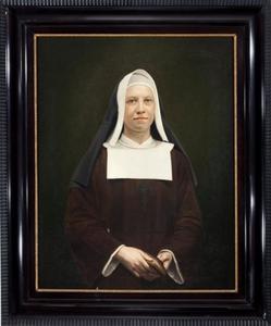 Portret van Cornelia Elisabeth Antonia Maria Beynes (1881-1952)