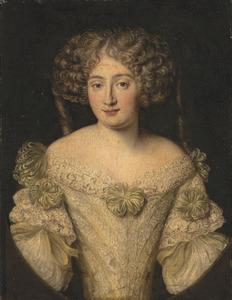 Portret van Maria Isabella Massimo Muti Papazzurri (1648-1690)