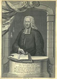 Portret van Hermanus van Garel, predikant te Den Haag en Edam