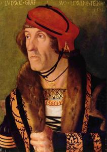 Portret van Ludwig, graaf van Löwenstein
