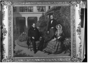 Portret van de familie van Alexander Hendrik Metelerkamp (1804-1871)