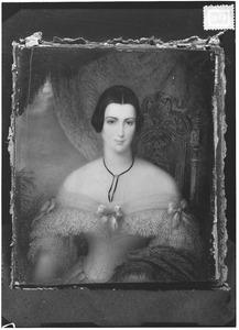Portret van Aurelia Elisabeth van Limburg Stirum (1812-1899)