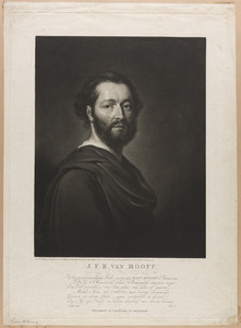 Portret van Johan Frederik Rudolph van Hooff (1755-1816) als Manius Curius Dentatus