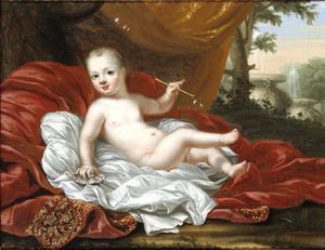 Portret van Ulrik (1684-1685), prins van Zweden