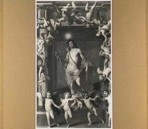 De god Phoebus Apollo: allegorie van de dag