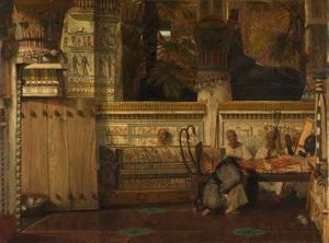 Een Egyptische weduwe ten tijde van Diocletianus