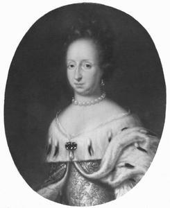 Portret van prinses Hedvig Eleonora (1636-1715)