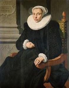 Portret van Elisabeth van Cronenburgh