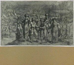 Abram [Abraham] en Lot verdelen het land onder elkaar (Genesis 13:6-12)