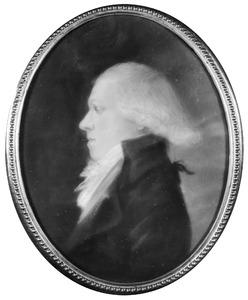 Portret van Willem Johannes de Bas (1772-1826)