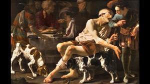 De parabel van de rijke man en de arme Lazarus (Lucas 16:19-25)