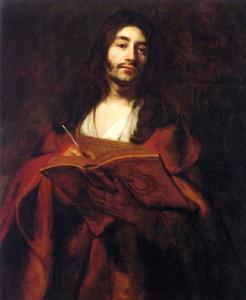 Zelfportret als de H. Johannes de Evangelist
