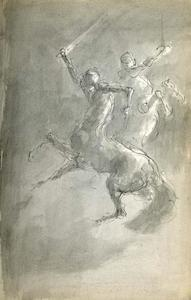 Vechtende centauren